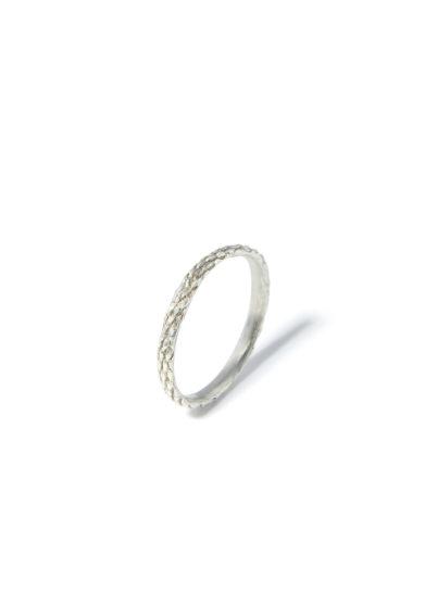 anello bambina snake eternity in argento 925 atelier molayem