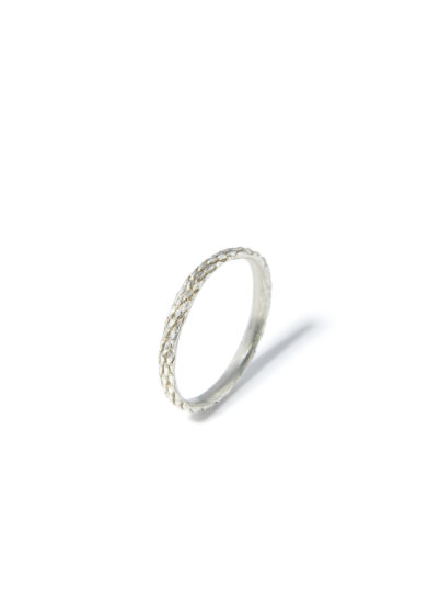 atelier molayem anello donna snake eternity in argento 925