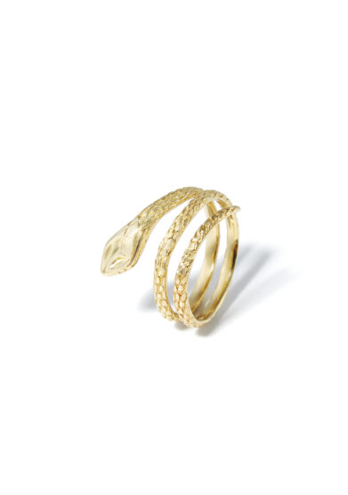 anello doppio giro snake donna atelier molayem