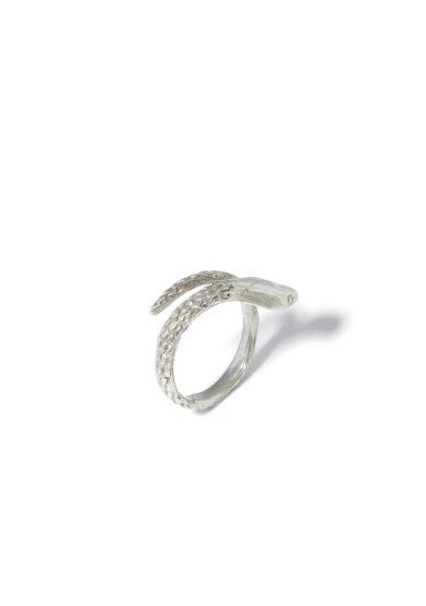 atelier molayem anello snake girl in argento 925