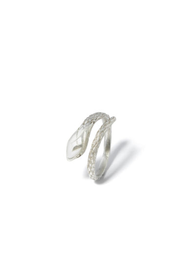 atelier molayem anello snake woman in argento 925