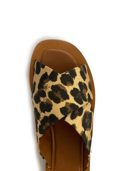 sandali madrague stampa animalier Ambleme