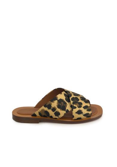 Ambleme sandali madrague stampa animalier still