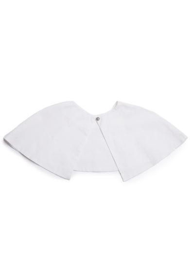 Bluetiful milano colletto cape bianco in cotone