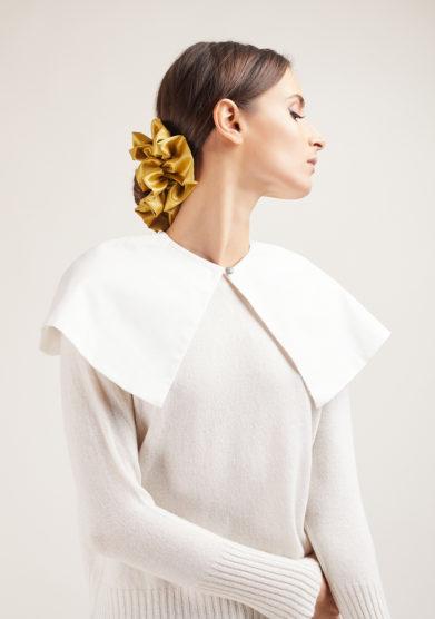 colletto cape bianco in cotone bluetiful milano