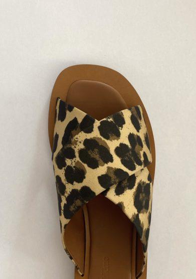 sandali madrague ambleme stampa animalier