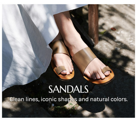 Artigianal made in Italy sandals
