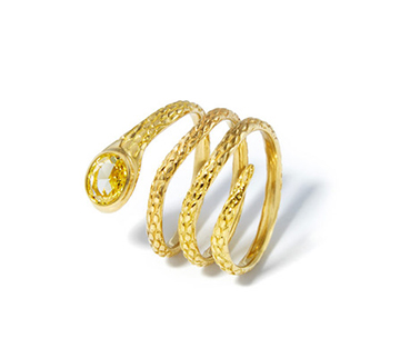 gold snakes