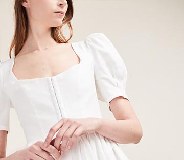 linen dress Gioia Bini