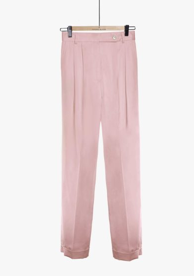 Chiara Bloom pantalone perfect pants cotone rosa