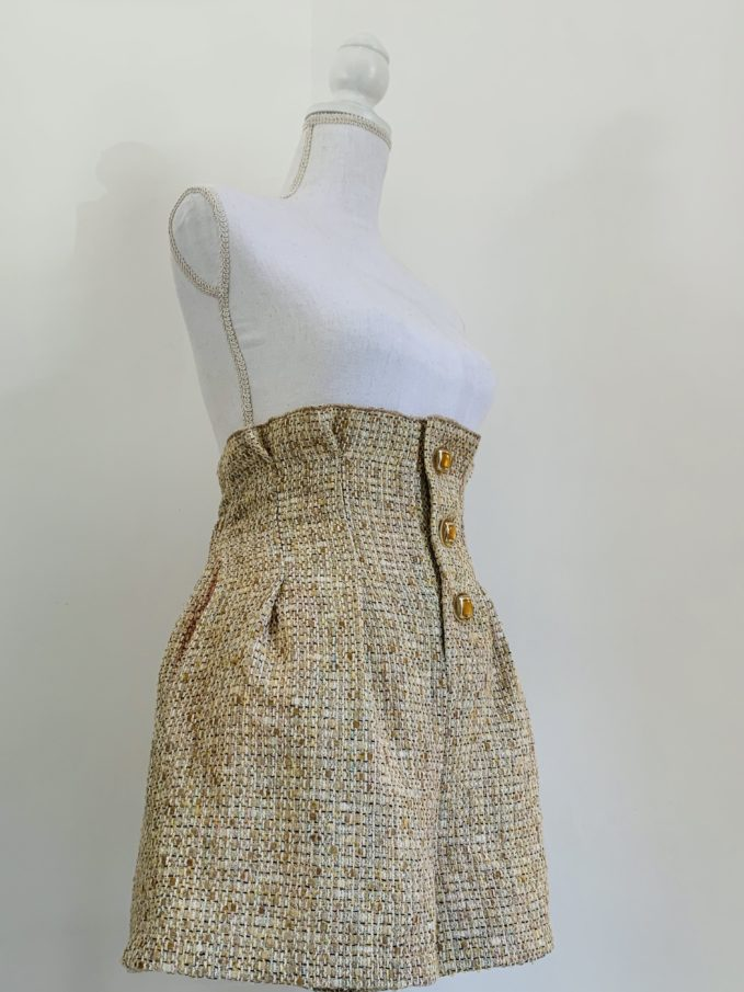shorts vita alta le globazine montalcino