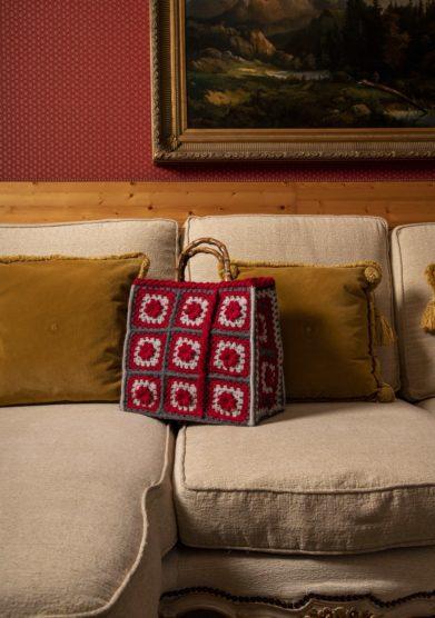 borsa lana crochet Grunny Simonetta Orlandi Cristallo Resort