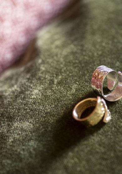 Cristallo resort anello fascia in argento Ricordo Cristallo 120 Daniela Salvato