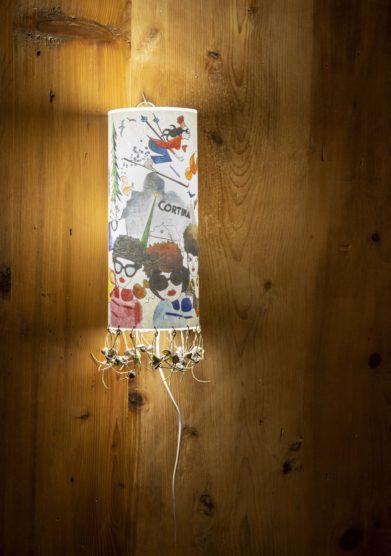 Cristallo resort lampada illustrata Valentina D'Andrea