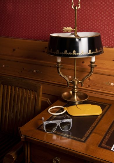 Cristallo resort occhiali ice & rocks Glenda Menia Cadore