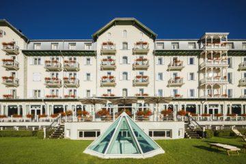 Hotel Cristallo Cortina per The Dressing Screen