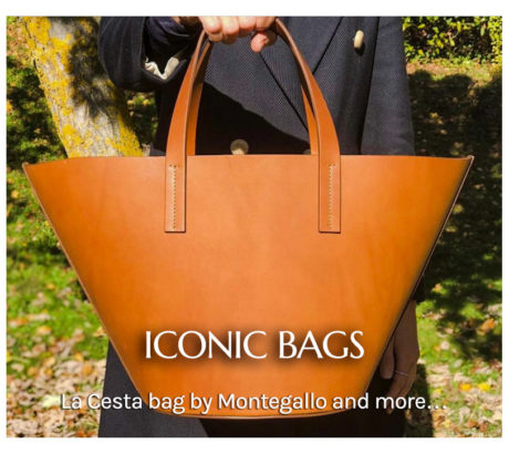 Iconic bags for The Dressing Screen