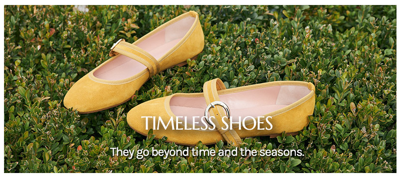 Timeless shoes for The Dressing Screen