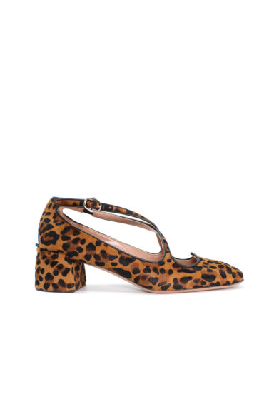 A.Bocca Pump Two for Love in pony leopardo