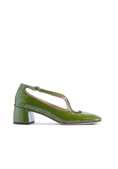 A.bocca pump two for love vernice felce