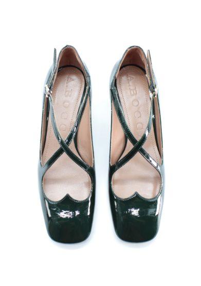 two for love kitten heel vernice pino A.bocca